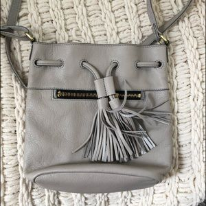 Fossil Mini Drawstring Crossbody
